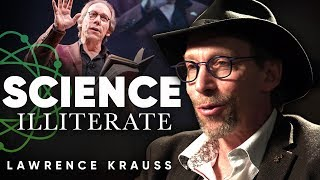 LAWRENCE KRAUSS - SCIENCE ILLITERATE: Should We Rethink How We Teach Science | London Real