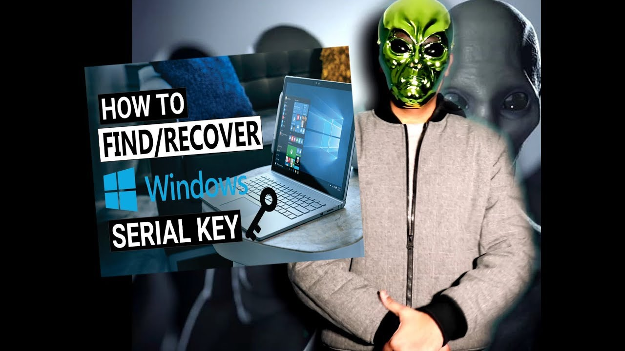 how to find windows key