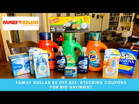 😍FAMILY DOLLAR STACKING COUPONS FOR BIG SAVINGS 👏🙏. HOW TO TELL IF IT'S A STORE COUPON ❤️