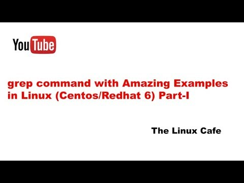 grep command with Amazing Examples in Linux (Centos/Redhat 6) Part-1