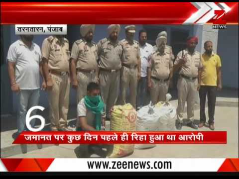 Punjab: ASI arrested, caught taking bribe| पंजाब: एएसआई गिरफ्तार, रिश्वत लेते पकड़ा गया