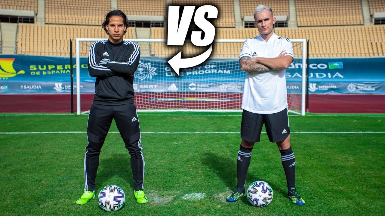 Download DIEGO LAINEZ VS DELANTERO09 - Retos de Fútbol