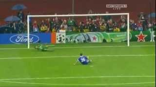 john terry and pennalty - john terry miss penalty in the UEFA Champions Leage final in 2008