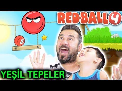 REDBALL 4 YEŞİL TEPELERİ BİTİRDİK! BOSS! | KIRMIZI TOP OYNUYORUZ