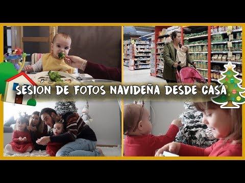 SESION de fotos NAVIDEÑA desde CASA 📸🎄 + su AMOR-ODIO por el brócoli | Vlogs Diarios