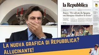 La nuova grafica di Repubblica? Allucinante! (22 nov 2017)