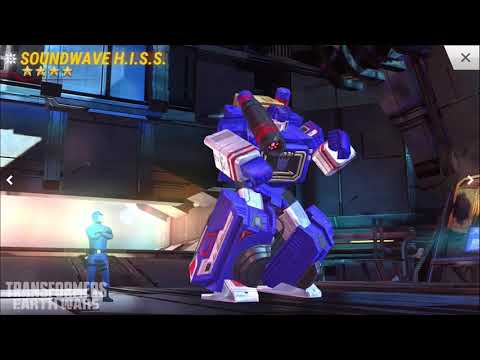 Transformers Earth Wars GI Joe Vehicle Transformation Demo with Soundwave and Hound