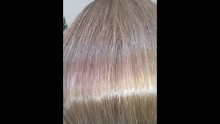 Наращивание волос Детский волос не окрашеный Челябинск Наталья Козицкая