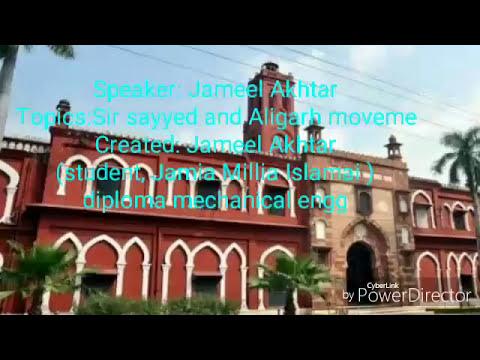 Sir sayyed and Aligarh movement