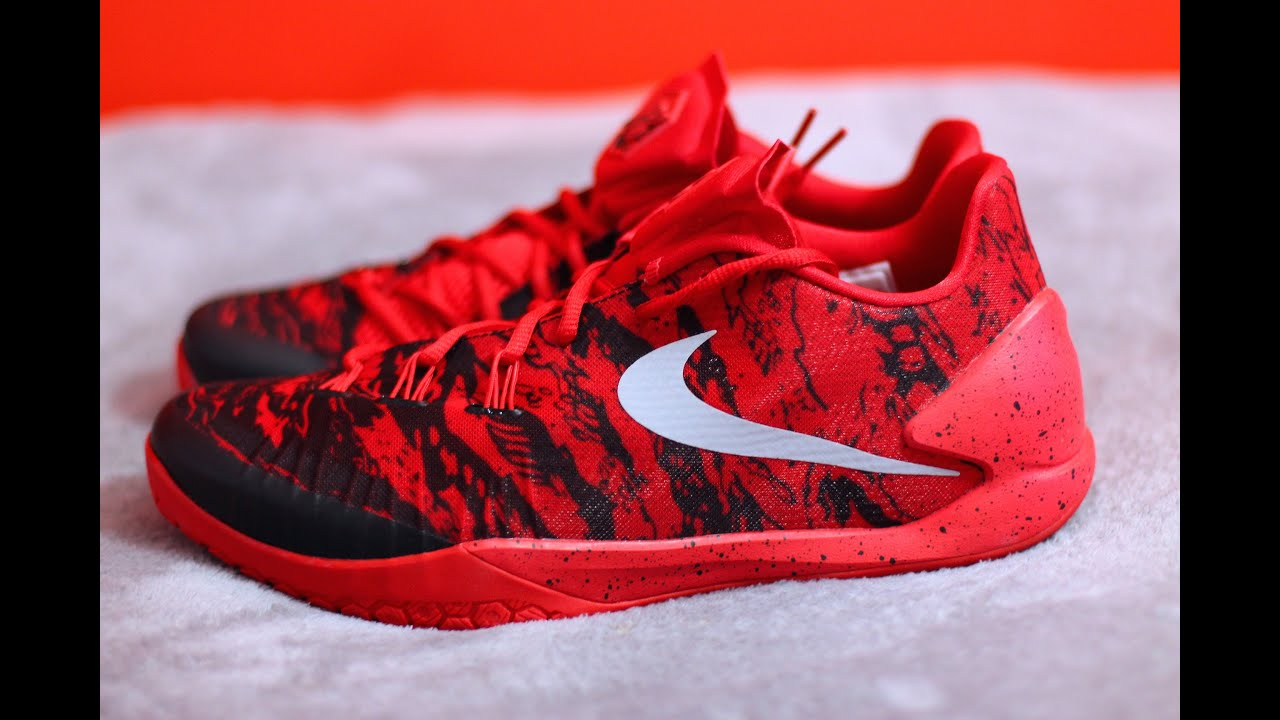 80188e75f67ec Unboxing Nike Hyperchase Harden PE Playoff Camo Red Black - YouTube