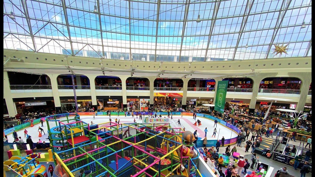 Afi Cotroceni Shopping Mall Bucharest București Romania The Largest Shopping Mall In Romania Youtube