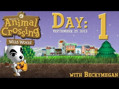 ★ Let's Play: Animal Crossing: Wild World; Ep. 1 - 9/25/13