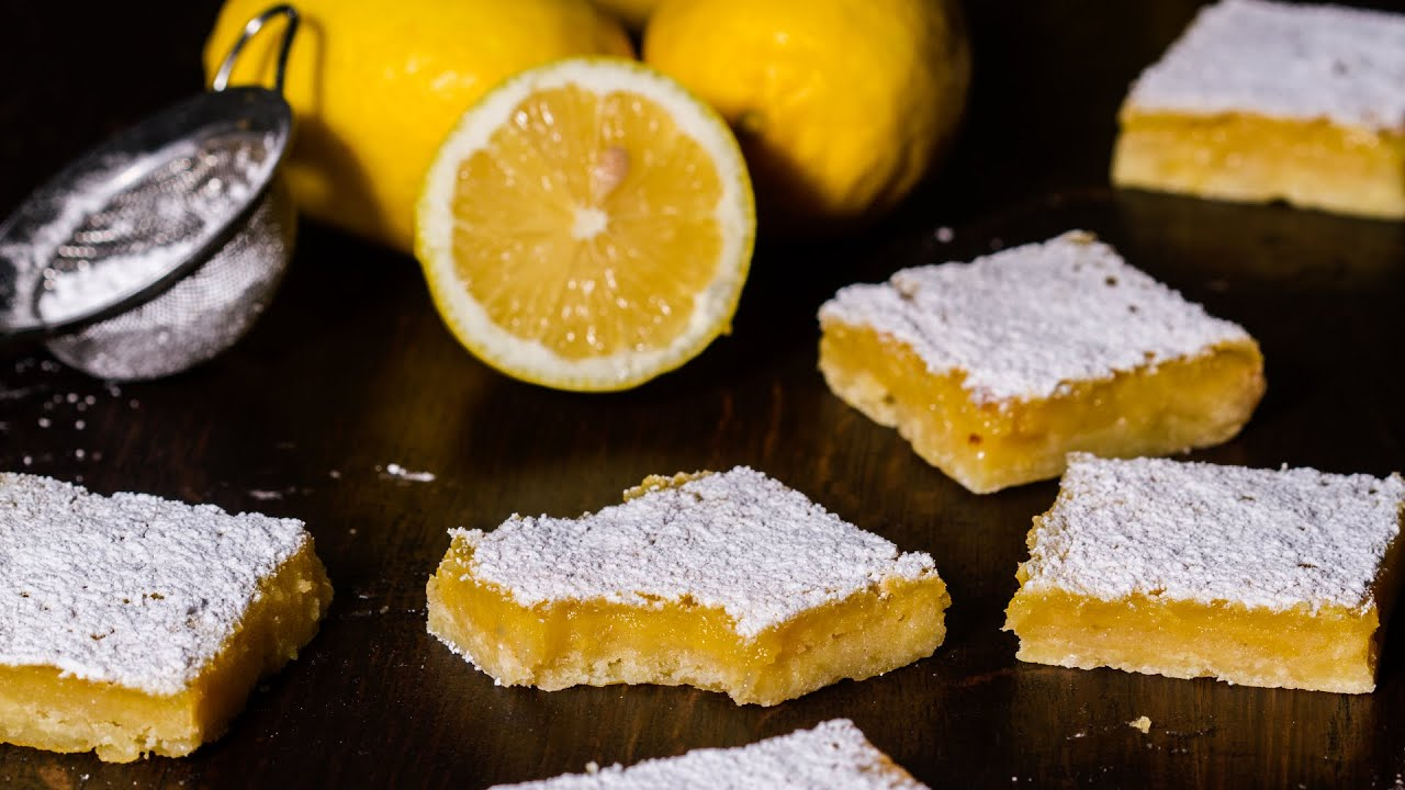 Lemon bars recipe youtube lemon bars recipe home cooking adventure audiocablefo