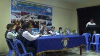 III Taller del Presupuesto Participativo 2015 - Rendición de Cuenta - Hualmay