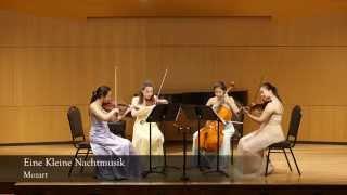 Mozart - Eine Kleine Nachtmusik by Ivy String Quartet
