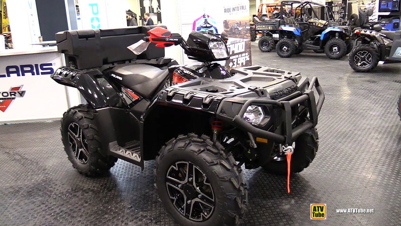 Side By Side Atv >> 2015 Polaris Sportsman XP 1000 ATV Walkaround - 2014 ...