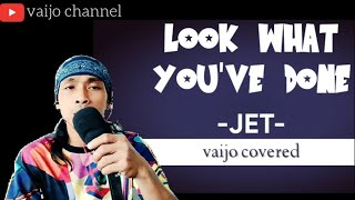 look what you've done - jet || cover