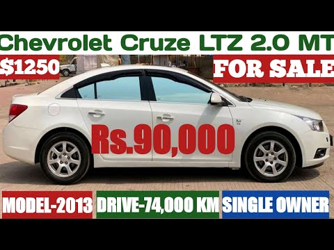 Chevrolet Cruze LTZ MT For Sale Rs.90,000 Only