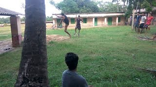Funny video    Students long Jump Competition     very funny