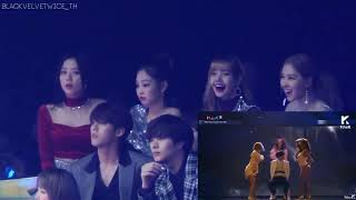 BLACKPINK Reaction MAMAMOO(마마무) Melon Music Awards 2018