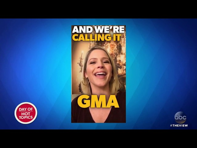 Sara Haines Announces Shes Leaving The View To Host GMA Day