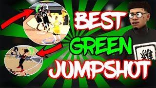"""NEW"" BEST 100% GREEN JUMPSHOT! | HALF COURT CONTESTED GREENS! | NBA 2K18"