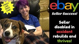 Disabled after accident:  Now Making Money on eBay