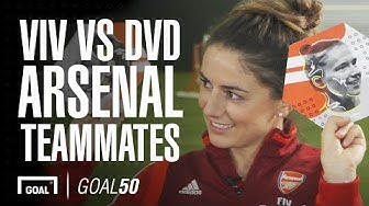 Arsenal's Dutch duo Miedema and Van de Donk take the team-mates challenge