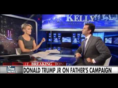 Thumbnail: Trump Jr. Only Person To Ever Out Talk Megyn Kelly!