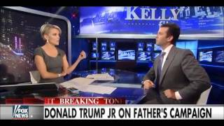 Trump Jr. Only Person To Ever Out Talk Megyn Kelly!