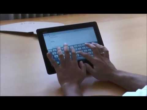 SUstand: How to Comfortably Type an Email on Your Tablet