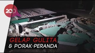 Kondisi Mengenaskan Dekat Pusat Gempa Lombok