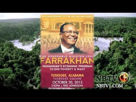 The Honorable Minister Louis Farrakhan Live with NBTV. TV THAT CARES.