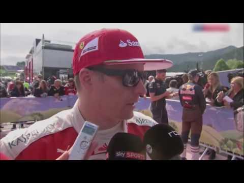 F1 2016 Austrian GP  Kimi Raikkonen Post Race Interview