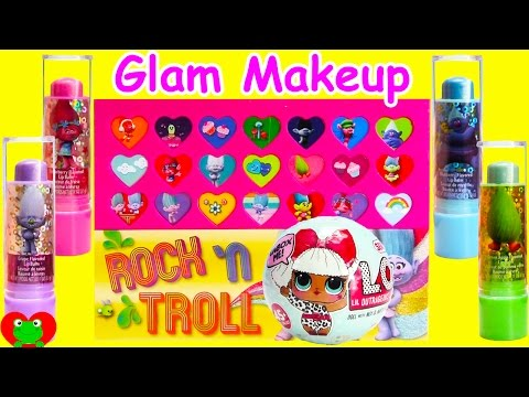 Trolls Glam Beauty Kit With L.O.L. Doll Surprises