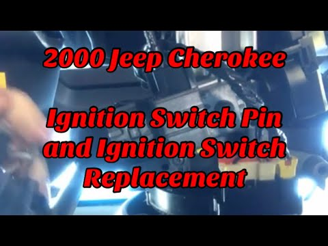2000 Jeep Cherokee Ignition Switch Wiring Diagram Gibson Sg P90 Xj And Pin Youtube