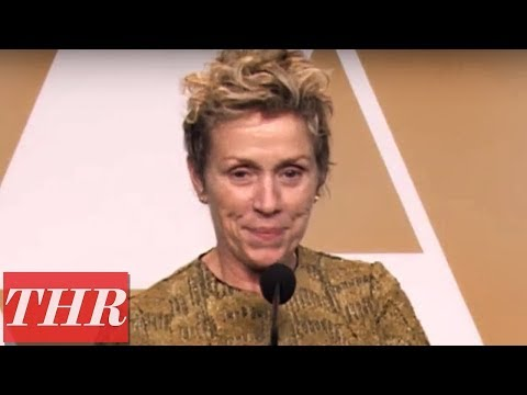 Frances McDormand on Winning Best Supporting Actress | Oscars 2018