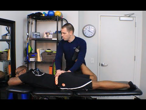 Piriformis Static Manual Release (Soft Tissue Mobilization)