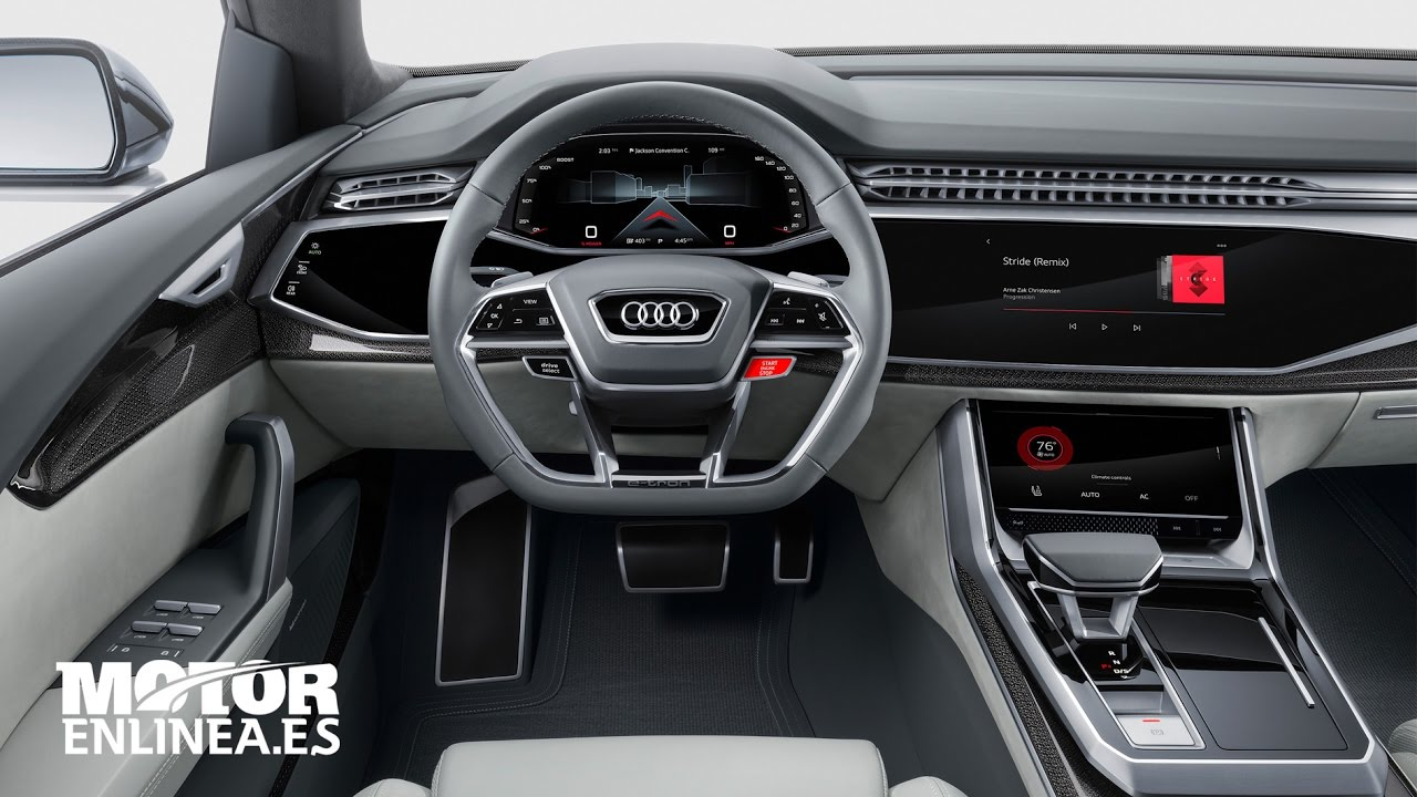 Audi Q8 Concept | Interior - YouTube