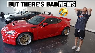 homepage tile video photo for Introducing the FINISHED Widebody BRZ! (New Wheels + Parts!)