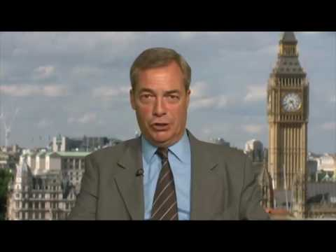 "FBI name Nigel Farage as a ""person of interest"" in Trump Russia probe"