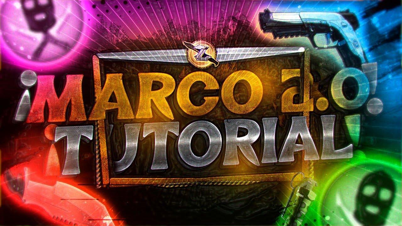 COMO hacer un MARCO 2.0 GAMING para tu canal de JUEGOS! - Zaler ...