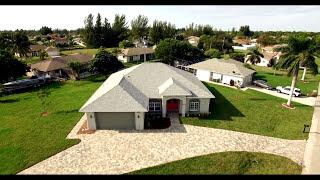New home builder in Cape Coral Florida, Lauren Homes.  Ashlin Floor Plan-Kunzman