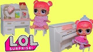 Куклы ЛОЛ Мультик LOL Surprise Новая мебель для кукол Видео для Детей Сюрпризы Игрушки для Девочек