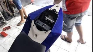 Cara memasang undertail Yamaha R15 (1)