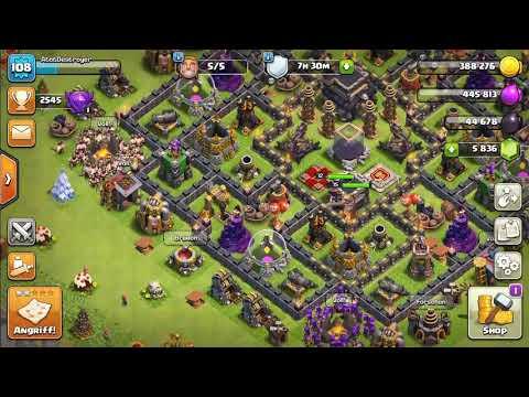 Clash of Clans Account zu Verkaufen [5800 Juwelen] [Rathaus 9 Maxed] [Level 108]