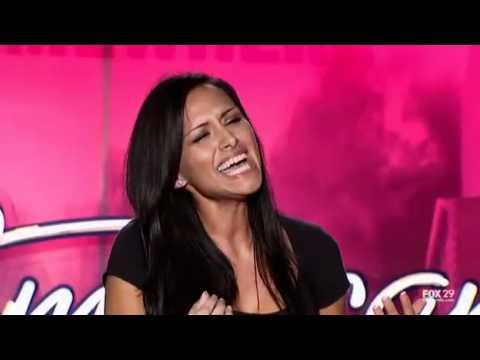 American Idol - Paris Tassin brings tears to J-Lo