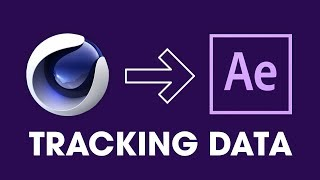 Cinema 4D to After Effects | Tracking Data | Easy