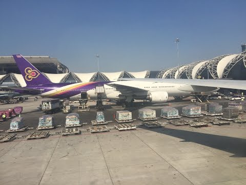 Thai Airways International Kuala Lumpur to Lahore Pakistan