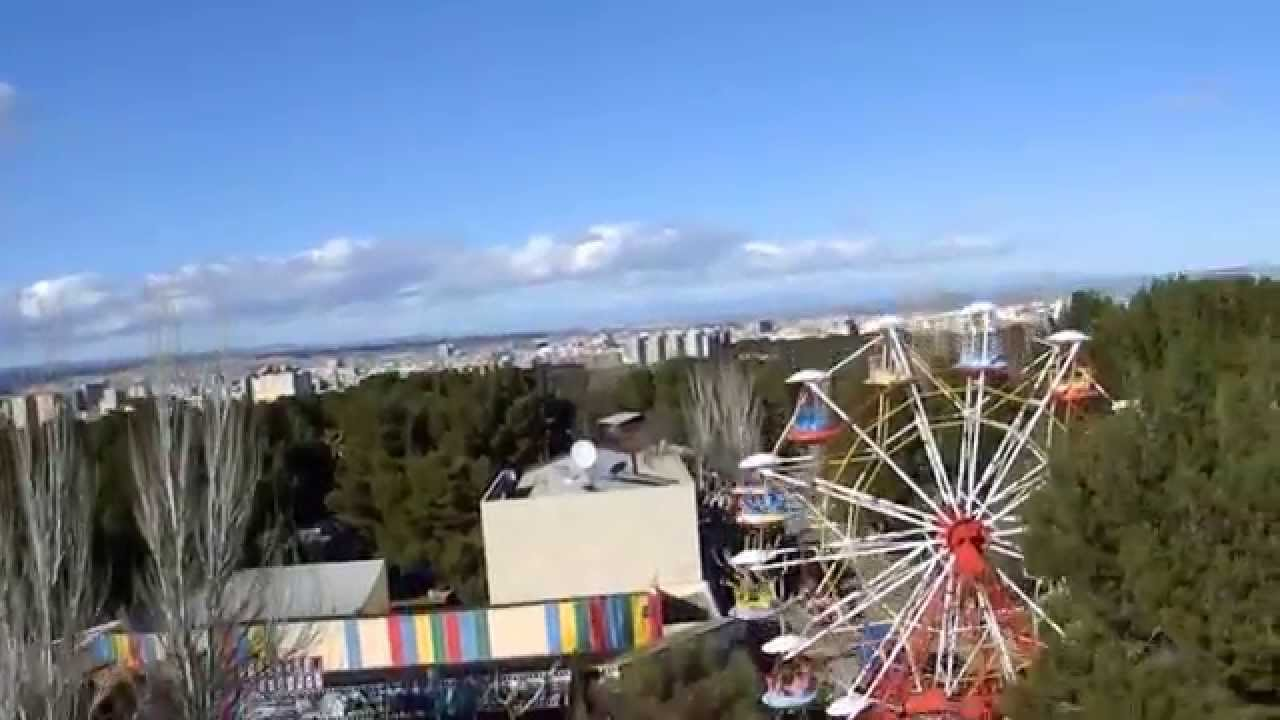 El torre n parque de atracciones de zaragoza youtube - Parque atracciones zaragoza ...